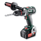 """METABO Cordless Drill/Driver Kit, 18V, 1/2"""", Battery Included, 1/EA, #602350520"""