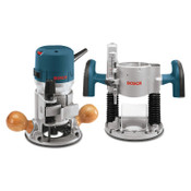 Bosch Tool Corporation 2 HP PLUNGE/FIXED BASEVS ROUTER COMBO KIT, 1/EA, #1617EVSPK