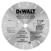 DeWalt Steel Circular Saw Blades, 7 1/4 in, 16 Teeth, 5/EA, #DW3330