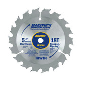 Stanley Products Cordless Circular Saw Blades, 5 1/2 in, 18 Teeth, 5/CT, #14027