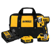 DeWalt 20V MAX* XR Compact Cordless Impact Wrench Kit, 3/8 in, 1/EA, #DCF890M2