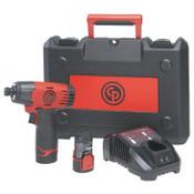 Chicago Pneumatic Cordless Impact Driver Kit, 1/EA, #8941088181