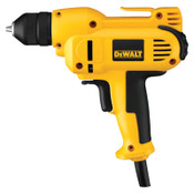 DeWalt 3/8 in Heavy-Duty VSR Drills, Keyless Chuck, 2,500 rpm, 8 A, Heavy Duty Kit Box, 1/KT, #DWD115K