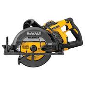 DeWalt FlexVolt Cordless Worm Drive Style Saw Kits, 60 V, 7 1/4 in Blade, 5/8 in Arbor, 1/EA, #DCS577X1