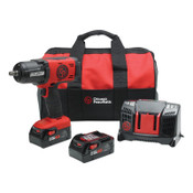 Chicago Pneumatic 1/2 in Cordless Impact Wrench Kit, 1/EA, #8941088491