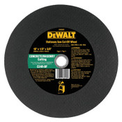 DeWalt Stationary Saw Wheels, 10 in, 5/8 in Arbor, C24R, 6,100 rpm, 10/BOX, #DW8009