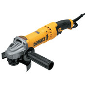 DeWalt High Performance Angle Grinder with E-Clutch, 11000 RPM, Trigger, 4.5 in to 5 in, 1/EA, #DWE43115N