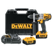 DeWalt 20V MAX* Lithium-Ion Premium 3-Speed Cordless Drill/Driver Kit, 1/2 in Chuck, 2000 RPM, 1/EA, #DCD980M2