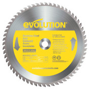 Evolution TCT Metal-Cutting Blades, 14 in, 1 in Arbor, 1,600 rpm, 90 Teeth, 1/EA, #14BLADESSN