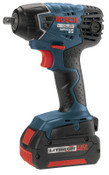 Bosch Tool Corporation Litheon Impactor Cordless Fastening Drivers, 3/8 in, 18 V, 2,800 rpm, 1/EA, #IWH18101