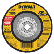 "DeWalt Extended Performance Type 27 Depressed Center Wheel, 4 1/2"", Z24R, 1/8 in Thick, 10/EA, #DW8807"