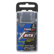 Bosch Tool Corporation Xbits, 3 in Length, 5/32 in Size, 2/PKG, #XBMP2