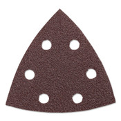 Bosch Tool Corporation RED DETAIL SANDING TRIANGLE  80-GRIT (5PK), 1/PK, #SDTR080
