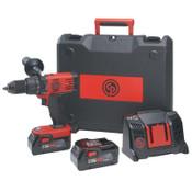 Chicago Pneumatic Cordless Hammer Drill Driver Kit, 1/EA, #8941085481