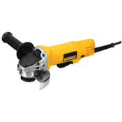 DeWalt 4 1/2 in Paddle Switch Small Angle Grinder, 7.5 A, 12000 RPM, 1/EA, #DWE4012