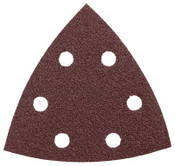 Bosch Tool Corporation RED DETAIL SANDING TRIANGLE  60-GRIT (5PK), 1/PK, #SDTR060