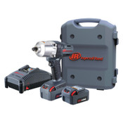 Ingersoll Rand 20V High-Torque Impact Wrench Kits, 1/2 in, 1,900 rpm, 1/EA, #W7150K22