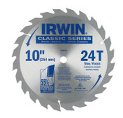 Stanley Products Carbide-Tipped Circular Saw Blades, 10 in, 24 Teeth, 5/EA, #15070