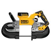 DeWalt Band Saw Kits, (2) 5.0 Battery Packs;Blade;Charger;Kit Box, 1/EA, #DCS374P2