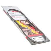 L.S. Starrett Powerband Matrix II HSS Bi-Metal Portable Bandsaw Blade, 10/14 TPI, 3/PK, #15708