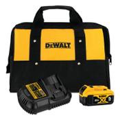 DeWalt Battery and Charger Kit For Li-Ion 20V, 1/EA, #DCB205CK