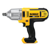 DeWalt 20V MAX* Compact Cordless Impact Wrench (Bare Tool), 1/2 in, 2,300 RPM, Detent Pin Anvil, 1/EA, #DCF880B