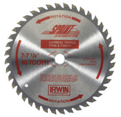 Stanley Products Carbide-Tipped Circular Saw Blades, 6 1/2 in, 40 Teeth, 5/BOX, #15220