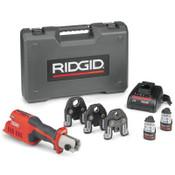 Ridge Tool Company RP 241 PP+LIO Kits, 12 V, Li-Ion Battery, 1/EA, #57373