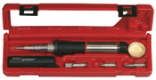 Apex Tool Group Super-Pro Self-Igniting Butane Soldering Iron Kits, Case;Stand;Sponge;Tips, 1/KIT, #PSI100K