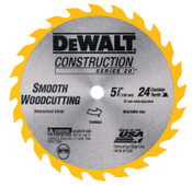 DeWalt Cordless Construction Saw Blades, 5 3/8 in, 24 Teeth, 3/BOX, #DW9054