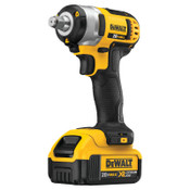 DeWalt 20V MAX* Compact Cordless Impact Wrench Kit, 1/2 in, 2,300 RPM, Hog Ring Anvil, 1/EA, #DCF880HM2