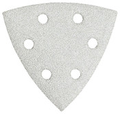 Bosch Tool Corporation WHT DETAIL SANDING TRIANGLE  60/120/240GR (6PK), 1/PK, #SDTW000