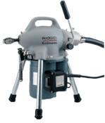 Ridge Tool Company Model K-50 Drain Cleaners, 3/4 in-4 in Pipe Dia., 115 VAC, 1 EA, #58920
