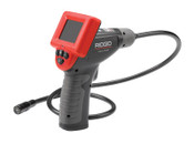 Ridge Tool Company CA-25 Handheld Inspection Camera, 480 x 234, 2.4 in Color LCD, 1 EA, #40043