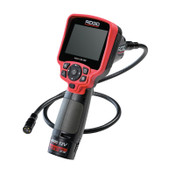 Ridge Tool Company Micro CA-350 Handheld Inspection Camera, 640 x 480, 3.5 in Color TFT, 1 EA, #55898