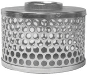 Dixon Valve Threaded Round Hole Strainers, Strainer, 3 in Inlet, 1 EA, #RHS35