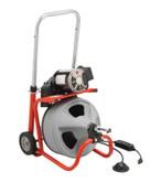 Ridge Tool Company Model K-400 Drain Cleaners, 1,725 rpm, 2 in-4 in Drain, 1 EA, #26998