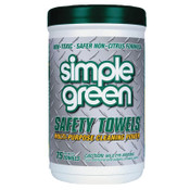 Simple Green Safety Towels, White, 6/CA, #3810000000000