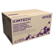 KIMBERLY-CLARK PROFESSIONAL KIMTECH Precision Cleaning Cloths Chemical Application, 12 x 12.5, Spunlace, 12/CA, #48635