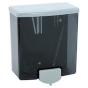 BOBRICK WASHROOM ClassicSeries Surface-Mounted Soap Dispenser, 40oz, Black/Gray, 12/EA, #BOB40