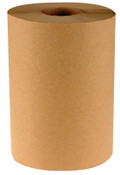Boardwalk Non-Perforated Hardwound Roll Towels, Kraft, 350 ft. roll, 12/CA, #BWK6252