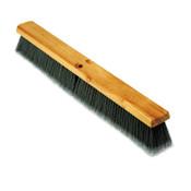 Boardwalk Floor Brush Head, 3 in Gray Flagged Polypropylene, 24 in, 1/EA, #BWK20424