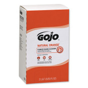 Gojo Natural Orange Pumice Hand Cleaners, Citrus, Bag-in-Box, 2,000 mL, 4/EA, #725504