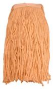 Magnolia Brush Brush Mop Head, Regular, 24 oz, 4 Ply Cotton Yarn, 12/EA, #4724