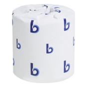 Boardwalk Bathroom Tissues, 4 1/2 in x 3 3/4 in, 2,250 ft, 96/CA, #BWK6150