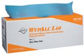 Kimberly-Clark Professional WypAll L40 Wipers, Pop-Up Box, Blue, 9/CA, #5740