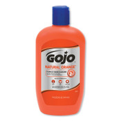 Gojo Natural Orange Pumice Hand Cleaners, Citrus, Squeeze Bottle, 14 oz, 12/BTL, #95712