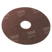 "3M Surface Preparation Pad, 20"" Diameter, Maroon, 10/CT, #MMMSPP20"