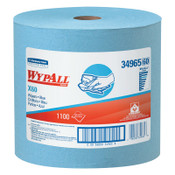 Kimberly-Clark Professional WypAll X60 Wipers, Jumbo Roll, Blue, 1,100 per roll, 1/RL, #34965
