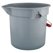 Newell Rubbermaid 14QT BRUTE BUCKET, 1/EA, #261400GRAY